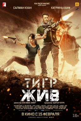 """Постер к фильму """"Тигр жив"""" /Tiger Zinda Hai/ (2017)"""