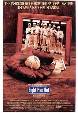 """Постер к фильму """"Восьмерка выбывает из игры"""" /Eight Men Out/ (1988)"""