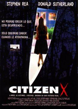 """Постер к фильму """"Гражданин Икс"""" /Citizen X / (1995)"""