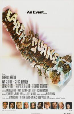 """Постер к фильму """"Землетрясение"""" /Earthquake/ (1974)"""