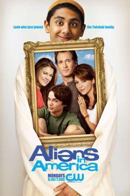 """Постер к фильму """"Чужие в Америке"""" /Aliens in America/ (2007)"""