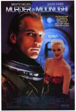 """Постер к фильму """"Убийство в лунном свете"""" /Murder by Moonlight/ (1989)"""
