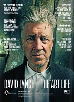 """Постер к фильму """"Дэвид Линч: Жизнь в искусстве"""" /David Lynch - The Art Life/ (2016)"""