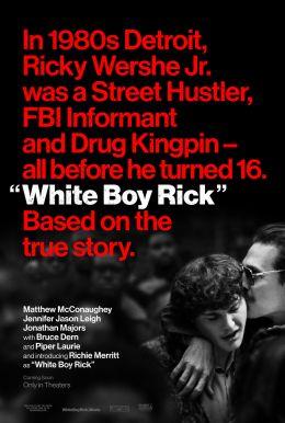 """Постер к фильму """"Белый парень Рик"""" /White Boy Rick/ (2018)"""
