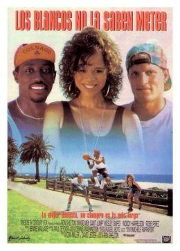 """Постер к фильму """"Белые не умеют прыгать"""" /White Men Can't Jump/ (1992)"""