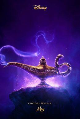 "Poster for the film ""Aladdin"" / Aladdin / (2019)"