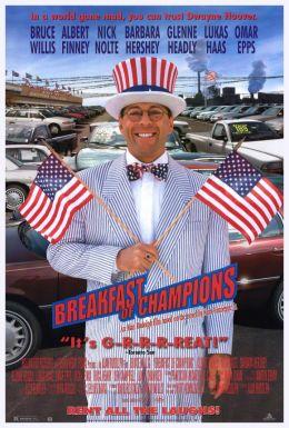 """Постер к фильму """"Завтрак для чемпионов"""" /Breakfast of Champions/ (1999)"""