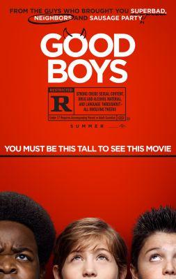 """Постер к фильму """"Хорошие мальчики"""" /Good Boys/ (2019)"""