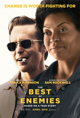 "Poster for the film ""The Best Enemies"" / The Best of Enemies / (2019)"