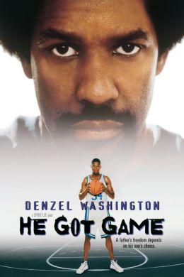 """Постер к фильму """"Его игра"""" /He Got Game/ (1998)"""
