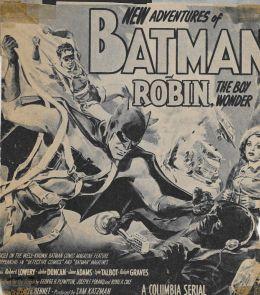 "Постер к фильму ""Бэтмен и Робин"" /Batman and Robin/ (1949)"
