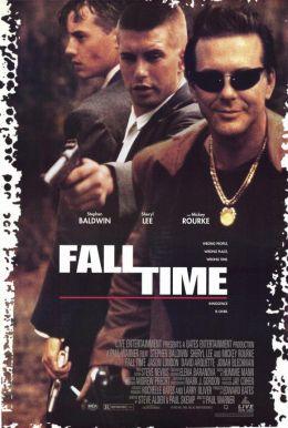 """Постер к фильму """"Время падения"""" /Fall Time/ (1995)"""
