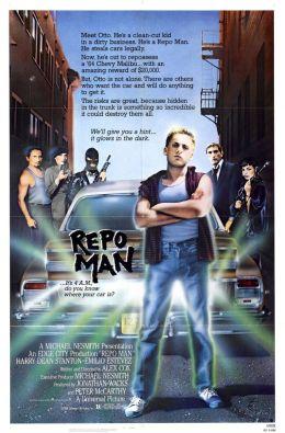 """Постер к фильму """"Конфискатор"""" /Repo Man/ (1984)"""