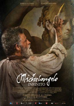 "Постер к фильму ""Микеланджело. Бесконечность"" /Michelangelo - Infinito/ (2018)"