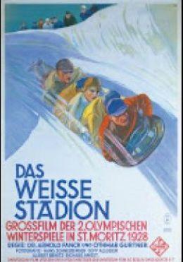 "Постер к фильму ""Белый стадион"" /Das weise Stadion/ (1928)"