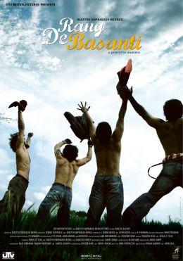"""Постер к фильму """"Цвет шафрана"""" /Rang De Basanti/ (2006)"""