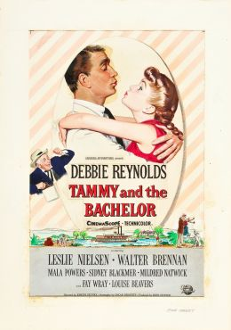 "A poster for the movie ""Tammy and the Bachelor"" / Tammy and the Bachelor / (1957)"