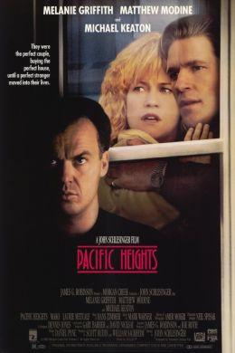"""Постер к фильму """"Тихоокеанские высоты"""" /Pacific Heights/ (1990)"""