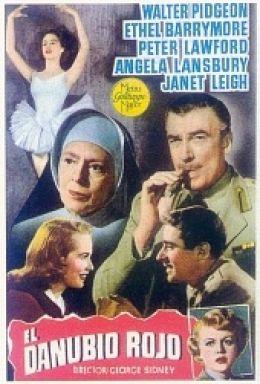 """Постер к фильму """"Красный Дунай"""" /The Red Danube/ (1949)"""