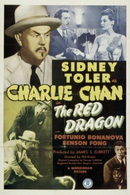 "A poster for the movie ""The Red Dragon"" / The Red Dragon / (1945)"