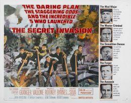 """Постер к фильму """"Тайное вторжение"""" /The Secret Invasion/ (1964)"""