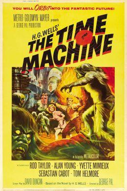 """Постер к фильму """"Машина времени"""" /The Time Machine/ (1960)"""