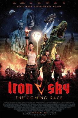 """Постер к фильму """"Железное небо 2"""" /Iron Sky The Coming Race/ (2019)"""