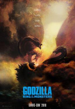 """Постер к фильму """"Годзилла: Король монстров"""" /Godzilla: King of the Monsters/ (2019)"""