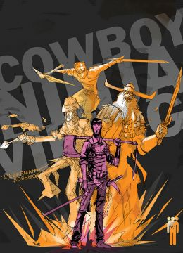 "Постер к фильму ""Ковбой Ниндзя Викинг"" /Cowboy Ninja Viking/ (2020)"