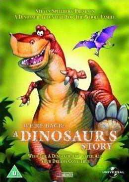 """Постер к фильму """"Мы вернулись! История динозавра"""" /We're Back! A Dinosaur's Story/ (1993)"""
