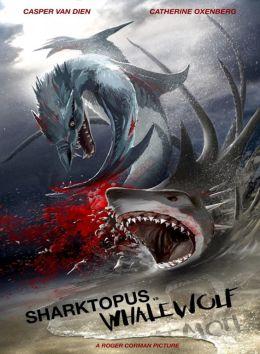 """Постер к фильму """"Акулосьминог против Китоволка"""" /Sharktopus vs. Whalewolf/ (2015)"""