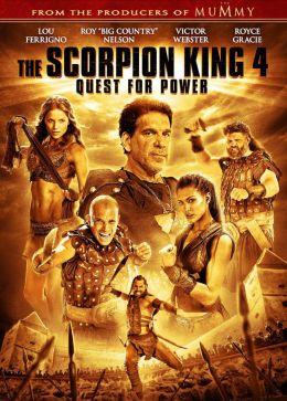 """Постер к фильму """"Царь скорпионов 4: Утерянный трон"""" /The Scorpion King 4: Quest for Power/ (2015)"""