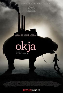 "A poster for the film ""Okcha"" / Okja / (2017)"