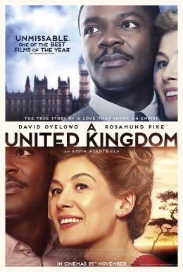 """Постер к фильму """"Объединенное королевство"""" /A United Kingdom/ (2016)"""