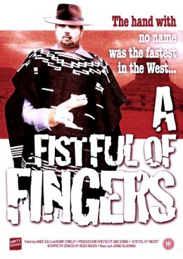 """Постер к фильму """"Пригоршня пальцев"""" /A Fistful of Fingers/ (1995)"""