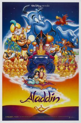 "Постер к фильму ""Аладдин"" /Aladdin/ (1992)"