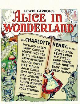 """Постер к фильму """"Алиса в стране чудес"""" /Alice in Wonderland/ (1933)"""