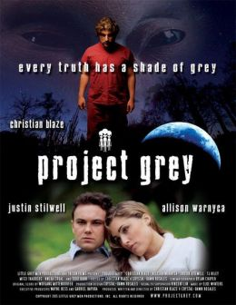 """Постер к фильму """"Внеземная угроза"""" /Alien Agenda: Project Grey/ (2007)"""