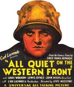 "Постер к фильму ""На Западном фронте без перемен"" /All Quiet on the Western Front/ (1930)"