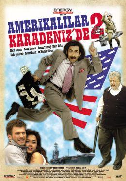 """Постер к фильму """"Американцы на Черном море 2"""" /Amerikalilar Karadeniz'de 2/ (2007)"""