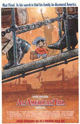 """Постер к фильму """"Американская история"""" /An American Tail/ (1986)"""
