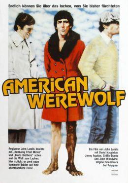 """Постер к фильму """"Американский оборотень в Лондоне"""" /An American Werewolf in London/ (1981)"""