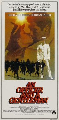 """Постер к фильму """"Офицер и джентльмен"""" /An Officer and a Gentleman/ (1982)"""