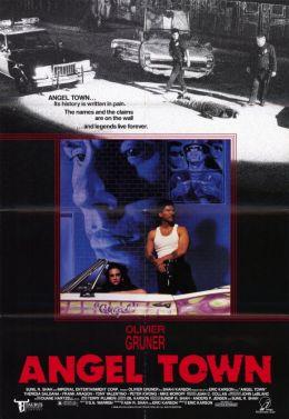 """Постер к фильму """"Город ангелов"""" /Angel Town/ (1990)"""