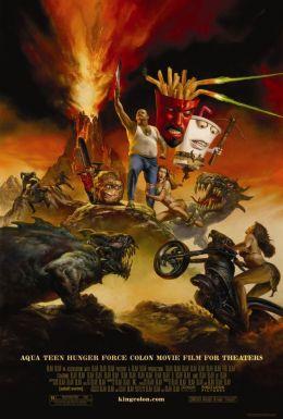 """Постер к фильму """"Команда Фастфуд"""" /Aqua Teen Hunger Force Colon Movie Film for Theaters/ (2007)"""