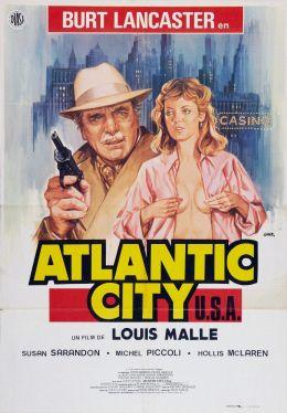 """Постер к фильму """"Атлантик-сити"""" /Atlantic City/ (1980)"""
