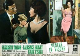 "Постер к фильму ""Баттерфилд 8"" /BUtterfield 8/ (1960)"