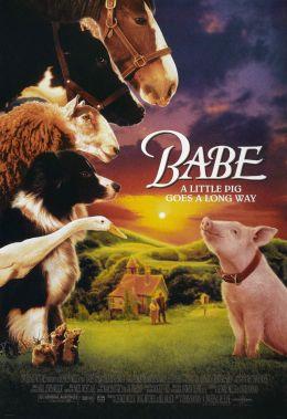 """Постер к фильму """"Бэйб: Четвероногий малыш"""" /Babe/ (1995)"""