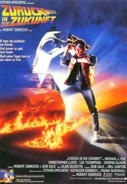 """Постер к фильму """"Назад в будущее"""" /Back to the Future/ (1985)"""