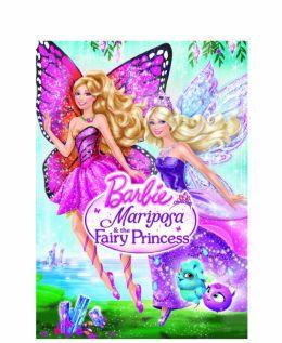 """Постер к фильму """"Barbie: Марипоса и Принцесса-фея"""" /Barbie Mariposa and the Fairy Princess/ (2013)"""
